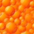 Seamless Orange Ball Pattern Royalty Free Stock Photo