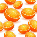 Seamless Orange Pattern Royalty Free Stock Photography