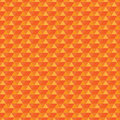 Seamless orange pattern triangles triangles are grouped by colors vector illustration Royalty Free Stock Images