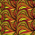 Seamless orange yellow patter abstract pattern pattern can be used as wallpaper web page background textile design etc Royalty Free Stock Photography