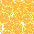 Seamless oranges Stock Image