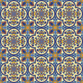 Seamless oriental pattern  background Stock Photos