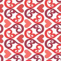 Seamless ornament love pattern Stock Photography