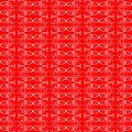 Seamless ornament red decorative background patter Stock Photography