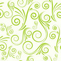 Seamless ornament from swirls Royalty Free Stock Photos