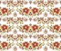 Seamless Ornament Wallpaper Royalty Free Stock Photography