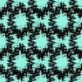Seamless ornamental geometrical pattern