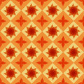 Seamless ornamental tile background illustration Stock Photos