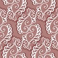 Seamless Ornate Abstract Pattern Royalty Free Stock Photos