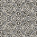 Seamless ornate abstract pattern vector Royalty Free Stock Image