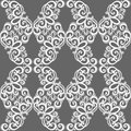 Seamless ornate abstract pattern vector Royalty Free Stock Images
