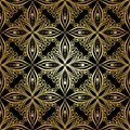 Seamless ornate abstract pattern vector Stock Image
