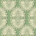 Seamless ornate abstract pattern vector Stock Images