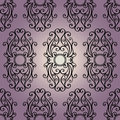 Seamless ornate abstract pattern vector Stock Photography