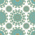Seamless paisley decor Stock Photo