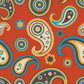 Seamless paisley pattern Stock Photography