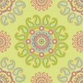 Seamless paisley pattern in turkish style Royalty Free Stock Image