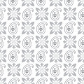 Seamless paisley pattern vector and background Royalty Free Stock Image