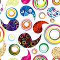 Seamless paisley wallpaper. Royalty Free Stock Photos