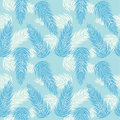 Seamless palm branch pattern Royalty Free Stock Photography