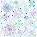 Seamless pastel christmas wallpaper Royalty Free Stock Images