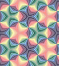 Seamless Pastel Colored Spirals Pattern. Geometric  Abstract  Background. Royalty Free Stock Photo