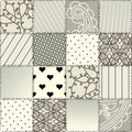 Seamless patchwork Royalty Free Stock Images