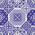 Seamless patchwork pattern Royalty Free Stock Photo