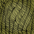 Seamless pattern with abstract leaves Royalty Free Stock Image