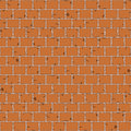 Seamless pattern aged stone wall on grey mortar background Royalty Free Stock Image