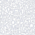 Seamless pattern with alphabet Stock Photos