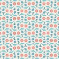 Seamless pattern of anchor, wheel, dolphin and Royalty Free Stock Photo