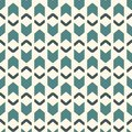 Seamless pattern with arrow fletching. Repeated chevrons wallpaper. Tribal and ethnic motif. Native americans ornament Royalty Free Stock Photo