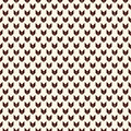 Seamless pattern with arrows motif. Repeated mini angle brackets. Chevrons wallpaper. Minimalist abstract background. Royalty Free Stock Photo