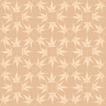 Seamless pattern from autumn maple leaves Royalty Free Stock Photography