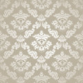 Seamless pattern background damask wallpaper vector illustration Royalty Free Stock Photo