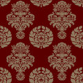Seamless pattern background damask wallpaper vector illustration Stock Image