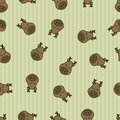 Seamless pattern background deer. Animal sleep. textile for baby.