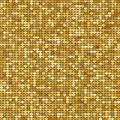 Seamless pattern background with gold glitter hearts. Vector illustration. Love concept. Cute wallpaper. Good idea for your Weddin Royalty Free Stock Photo