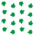 Seamless pattern background green leafs texture manufacturing Stock Photo