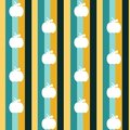 Seamless vector pattern background illustration Royalty Free Stock Photo