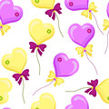 Seamless pattern with balloons-01