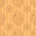 Seamless pattern based on traditional asian elements paisley this is file of eps format Stock Photography