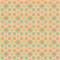 Seamless pattern on a beige background