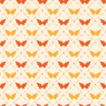 Seamless pattern with bitterflies repeating butterflies vector illustration Stock Photography