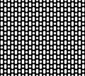Seamless pattern, black perforated surface