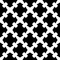 Seamless pattern, black & white gothic texture