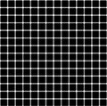 Seamless pattern with black white squares. The effect of optical illusion. Vector illusory background, texture