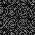 Seamless pattern black and white vector illustration of a in Stock Photography