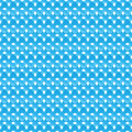 Seamless pattern of blue abstract crosses vector texture Royalty Free Stock Photo